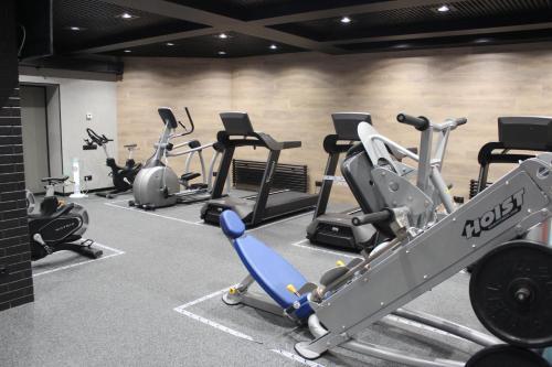 Фитнес-центр и/или тренажеры в Art Hotel