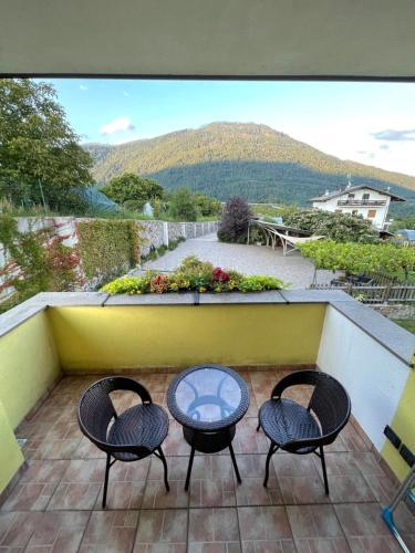 A balcony or terrace at Casa Belvedere