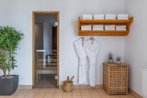 A bathroom at Hotel Münster Kongresscenter affiliated by Meliá