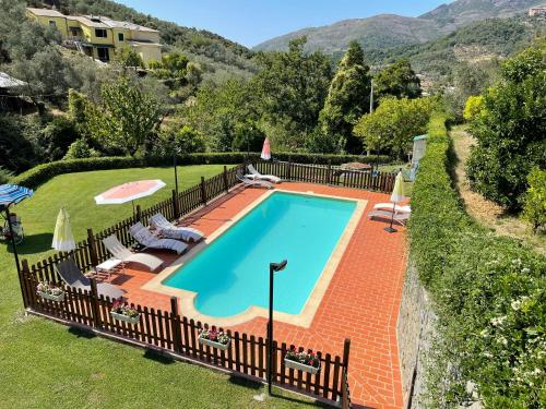 A view of the pool at B&B Vignola or nearby