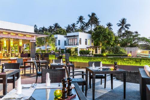 Ein Restaurant oder anderes Speiselokal in der Unterkunft The Chill Resort and Spa, Koh Chang