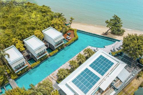 Blick auf The Chill Resort and Spa, Koh Chang aus der Vogelperspektive
