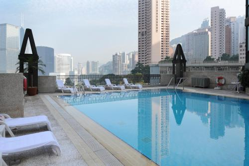 The swimming pool at or near Bishop Lei International House