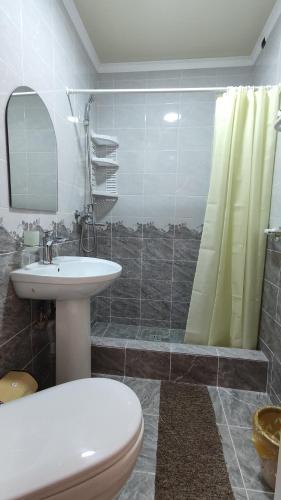 Un baño de Hotel Natalia