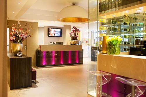 Hall ou réception de l'établissement Albus Hotel Amsterdam City Centre