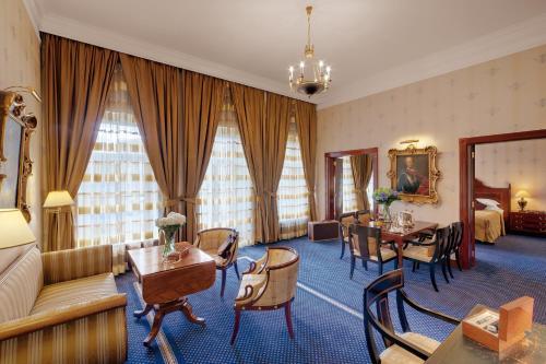 Гостиная зона в Отель Кемпински Мойка 22