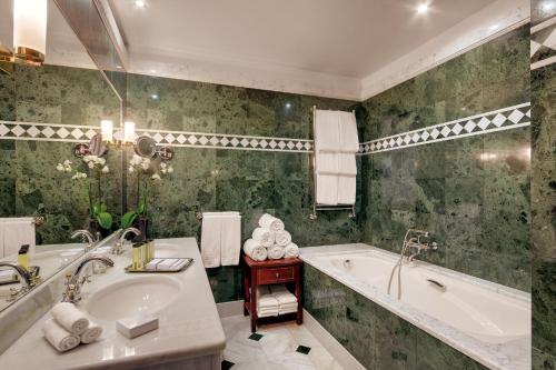 Ванная комната в Отель Кемпински Мойка 22