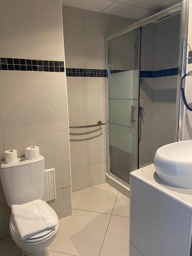 A bathroom at Hôtel Select - Réunion