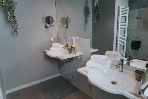 Ein Badezimmer in der Unterkunft The Blasky