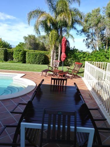 The swimming pool at or near Quinta da Boavista