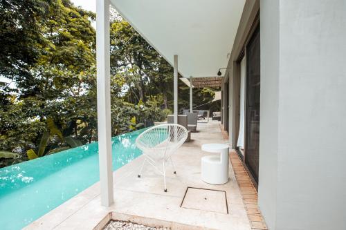 The swimming pool at or near Akwa Resorts Ocean View