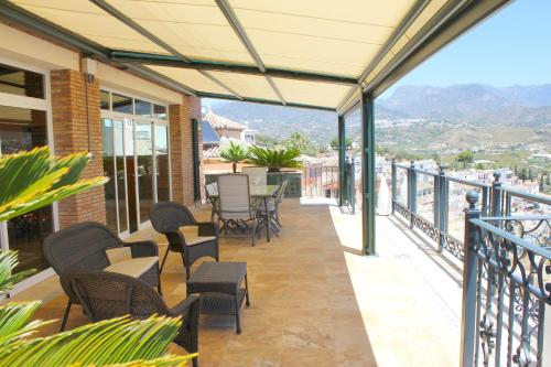 En balkong eller terrass på Villa Vista Lara