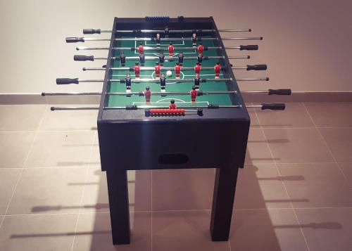 A pool table at Pansion Danica