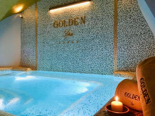 The swimming pool at or near Golden Tower Hotel & Spa
