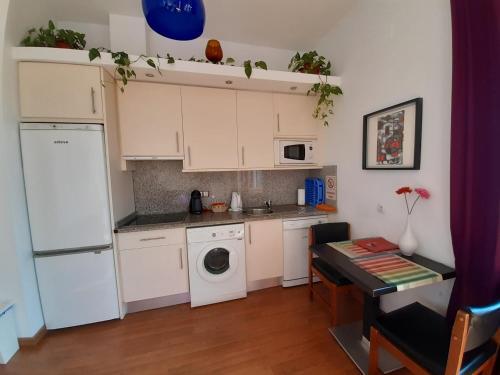 Ett kök eller pentry på Ole Málaga