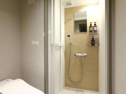 A bathroom at Hotel Wing International Korakuen