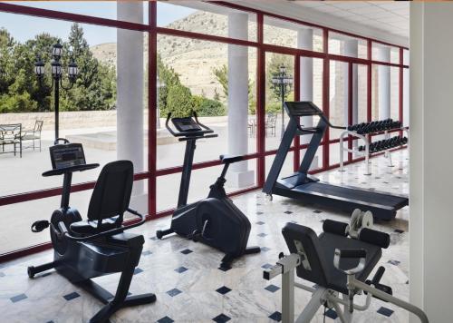 Salle ou équipements de sports de l'établissement Mövenpick Nabatean Castle Hotel