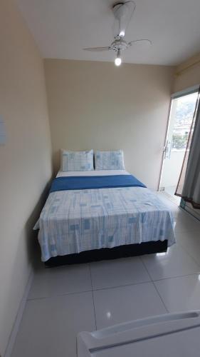 Cama ou camas em um quarto em Ocean Suítes