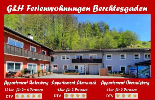 G & H Ferienwohnungen Appartement Untersberg