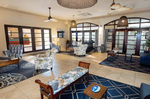 The lobby or reception area at Bel Jou Adults Only - All Inclusive