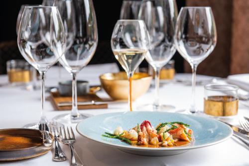 Lunch en/of diner beschikbaar voor gasten van Hotel de Echoput