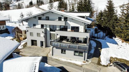Haus Vordertiefenbach зимой