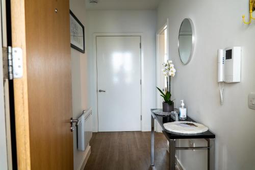 A bathroom at Hatfield Town Centre