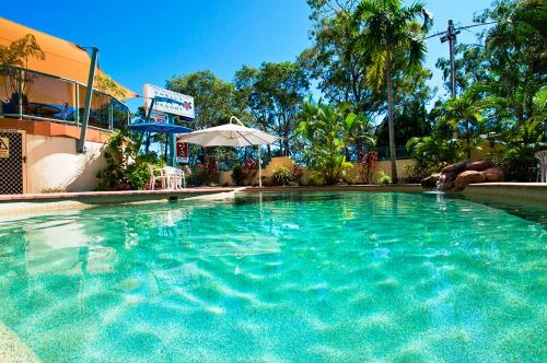 The swimming pool at or near Shelly Bay Resort