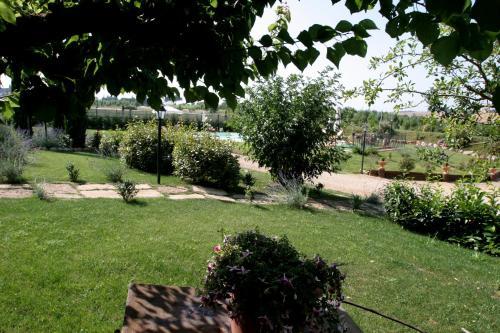 A garden outside Agriturismo Renaccino