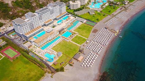 A bird's-eye view of Mitsis Alila Resort & Spa