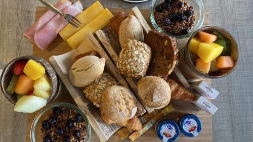 Breakfast options available to guests at Ramada by Wyndham Amsterdam Airport Schiphol