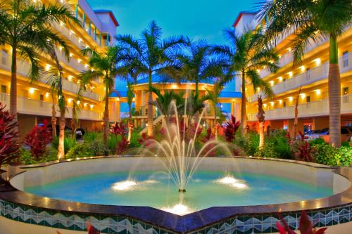 The swimming pool at or near Sunset Vistas Two Bedroom Beachfront Suites
