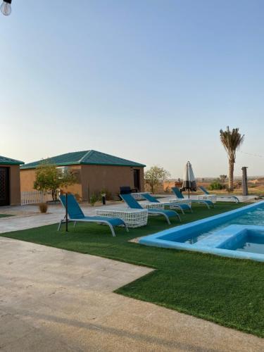 The swimming pool at or near Desert Inn Resort and Camp