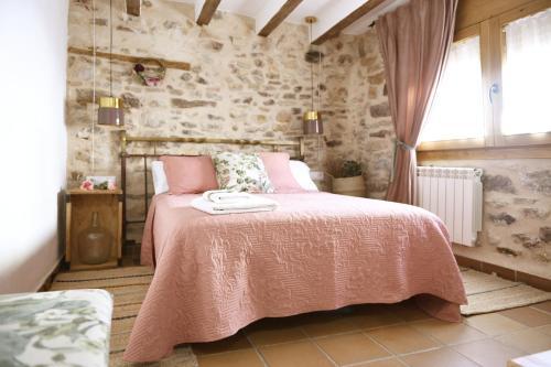 Cama o camas de una habitación en LA MIMBRERA
