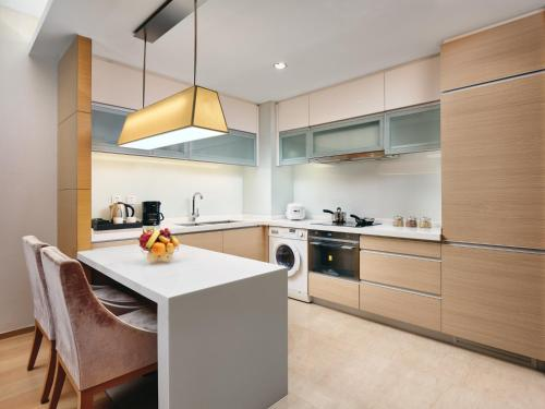 A kitchen or kitchenette at InterContinental Residences Chengdu City Center, an IHG Hotel