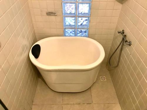 A bathroom at Pousada Casa Grande