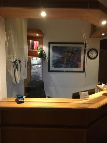 Lobby/Rezeption in der Unterkunft Hotel Bölke
