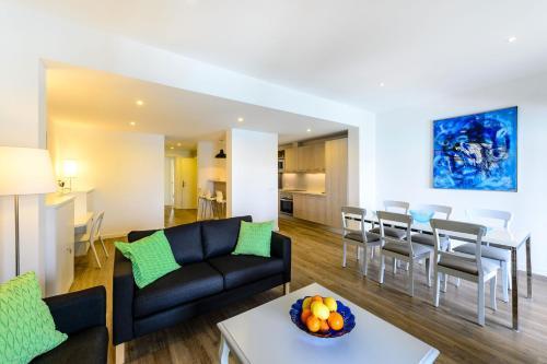 Area soggiorno di Lili Apartments