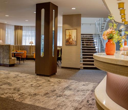 The lobby or reception area at Hotel Essener Hof; Sure Hotel Collection by Best Western