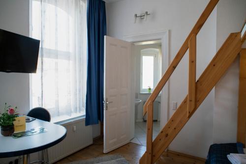 TV/Unterhaltungsangebot in der Unterkunft Apartments am Schlosspark
