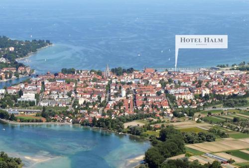 A bird's-eye view of Hotel Halm Konstanz