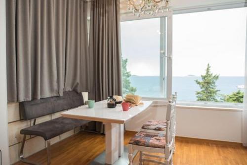 Coin salon dans l'établissement Villa Carmen Rooms & Apartments