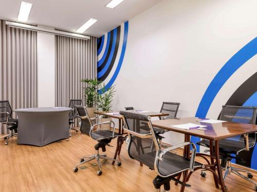 Área de negócios e/ou sala de conferências em Mercure Belo Horizonte Vila da Serra