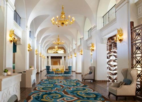 The lobby or reception area at The Vinoy® Renaissance St. Petersburg Resort & Golf Club