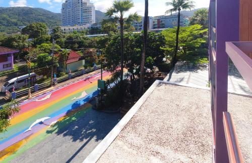 A balcony or terrace at Holiday Inn Express Phuket Patong Beach Central, an IHG Hotel - SHA Plus