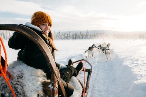 Lapland Hotels Sky Ounasvaara during the winter
