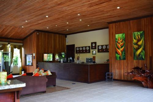 El vestíbulo o zona de recepción de Hotel Los Lagos Spa & Resort