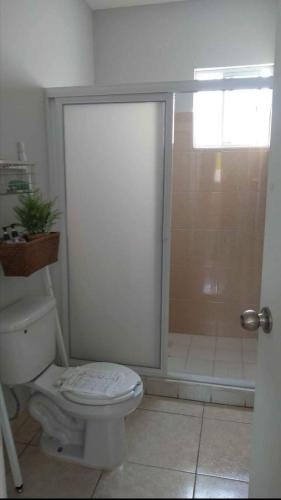 Un baño de Habitaciones Matamoros