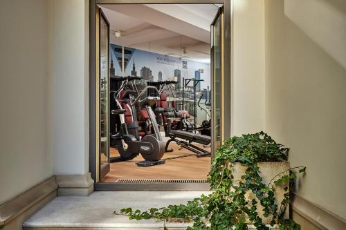 Centrum fitness w obiekcie H15 Boutique Hotel