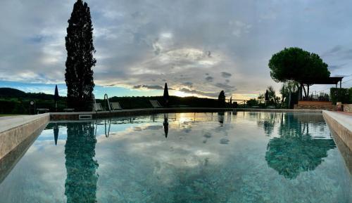 The swimming pool at or close to Fattoria Di Pancole